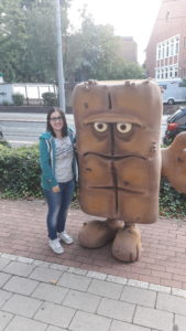 Bianca und Bernd das Brot auf der Phantastika 2017