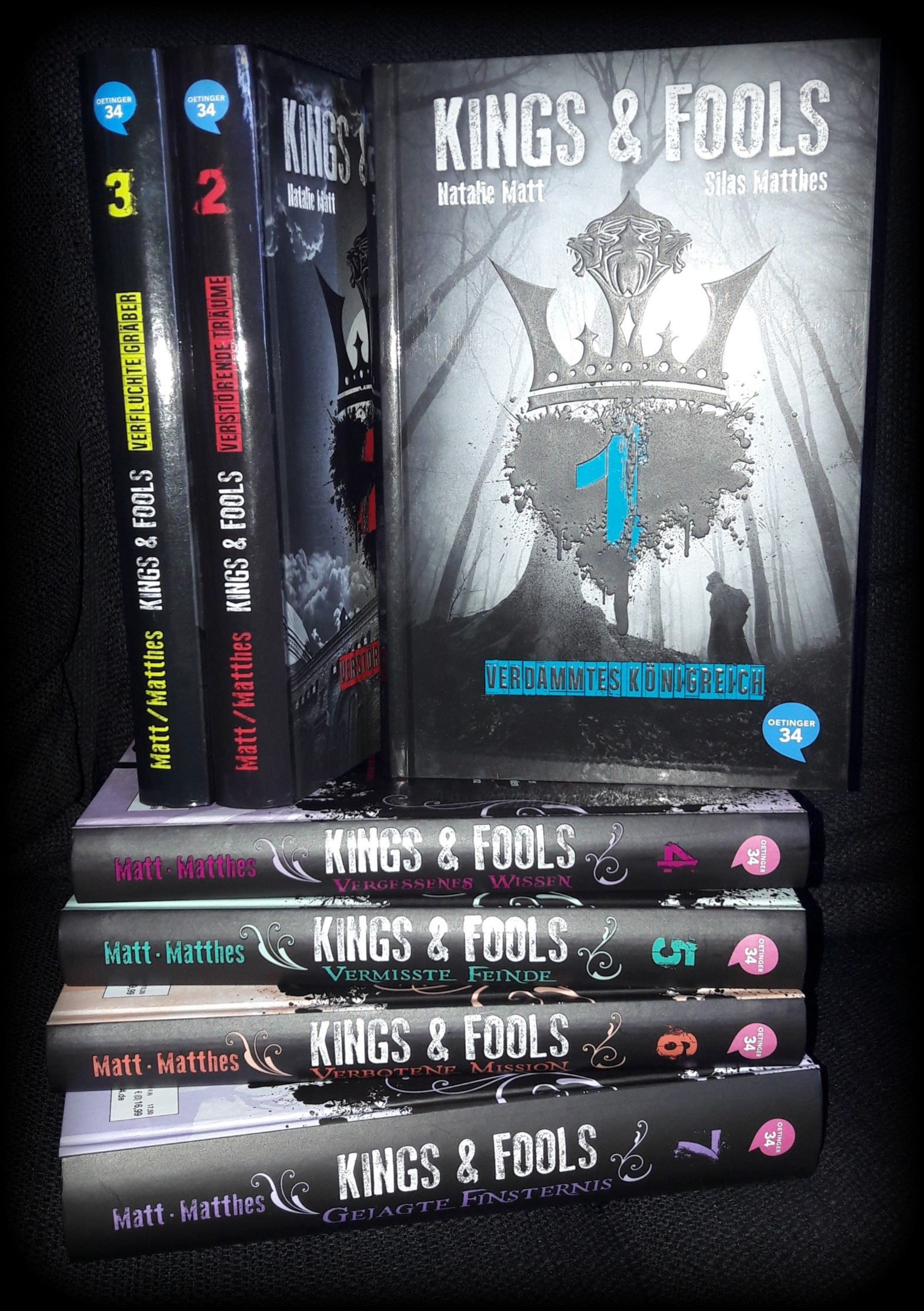 Buchvorstellung – Kings and Fools