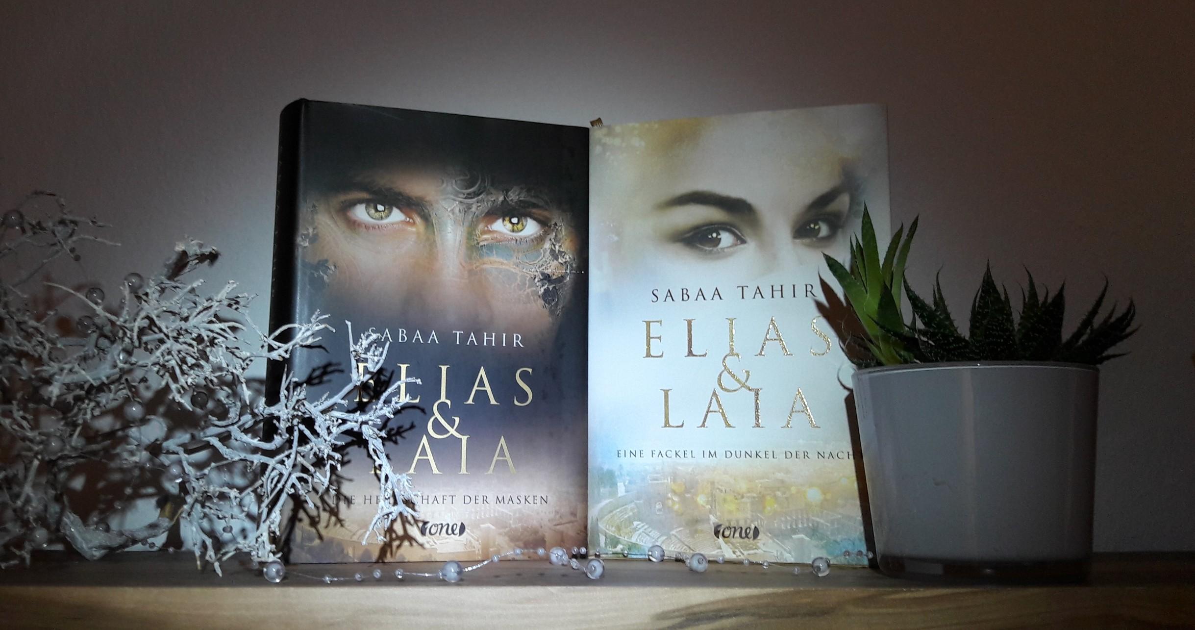 Buchvorstellung – Elias und Laia