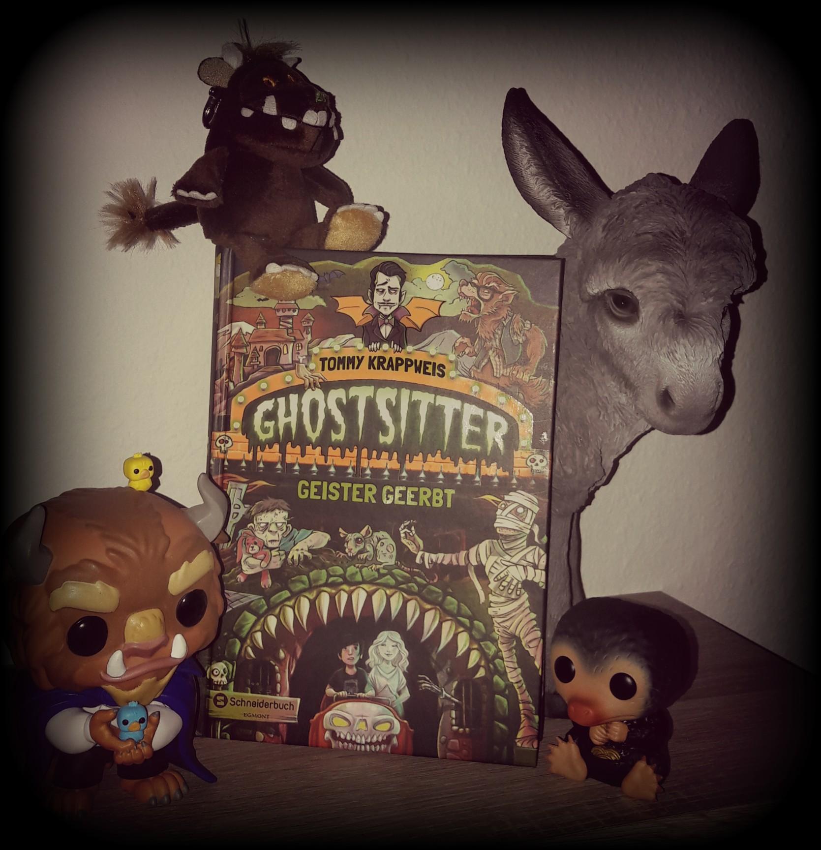 """Rezension – Ghostsitter """" Geister geerbt"""""""