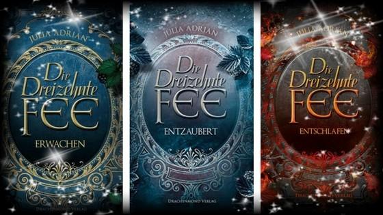 Cover der Dreizehnten Fee Trilogie