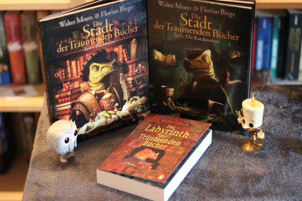 Alle meine Bücher von Walter Moers