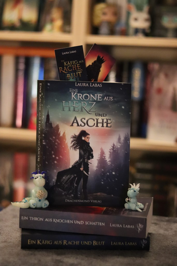 Die Trilogie von Laura Labas mit dem Finale Eine Krone aus Herz und Asche