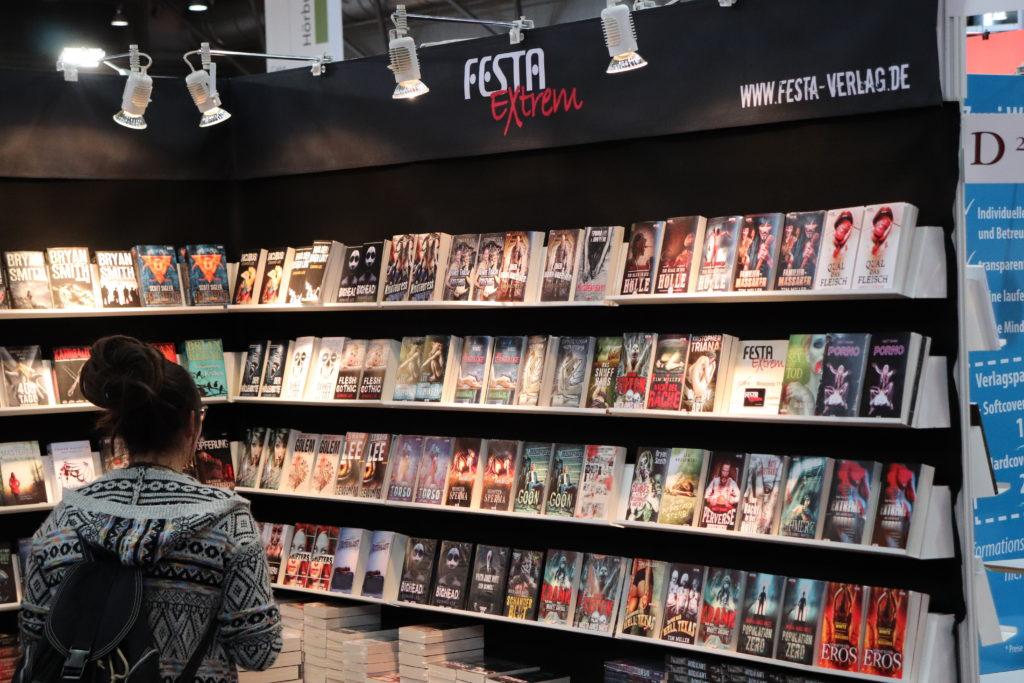 Festaverlag auf der Leipziger Buchmesse