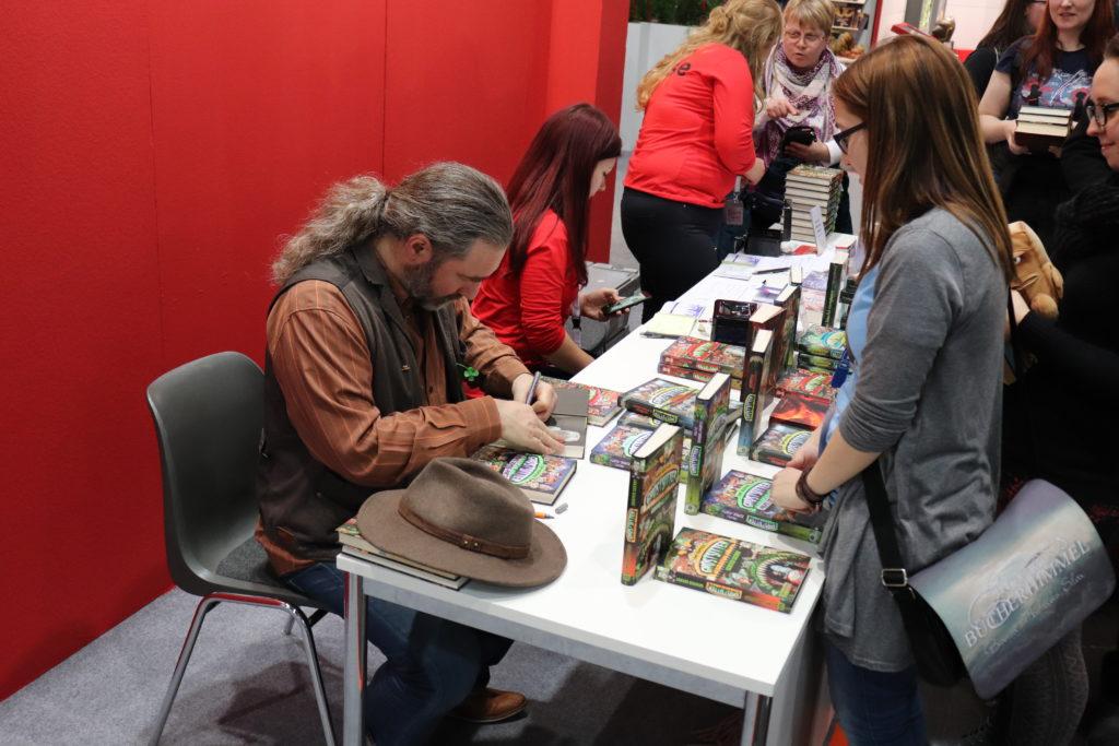 Tommy Krappweis auf der Leipziger Buchmesse