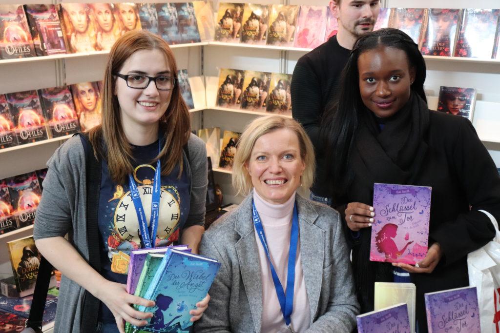 Eva Seith auf der Leipziger Buchmesse