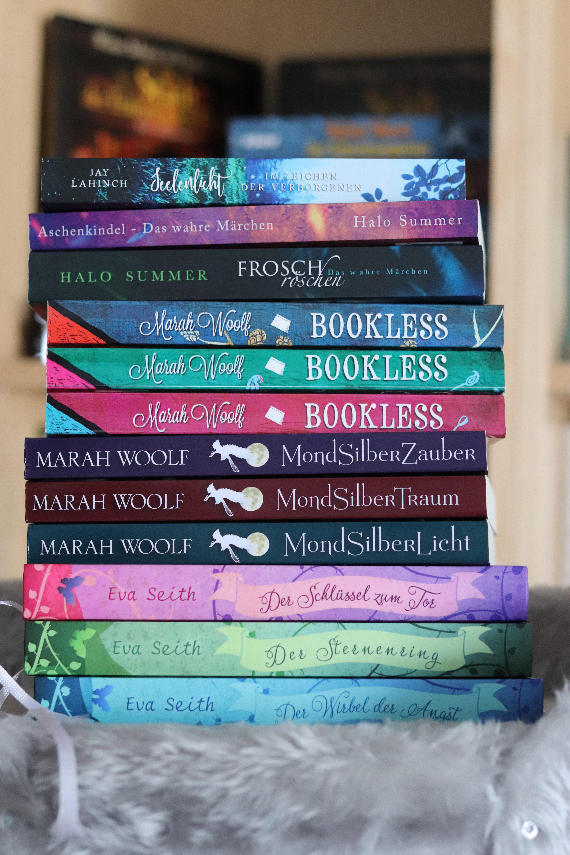 Selfpublisher – Ein Bücherstapel voller Herzblut