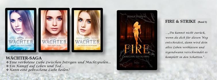 Übersicht über Jessica Stephens Bücher