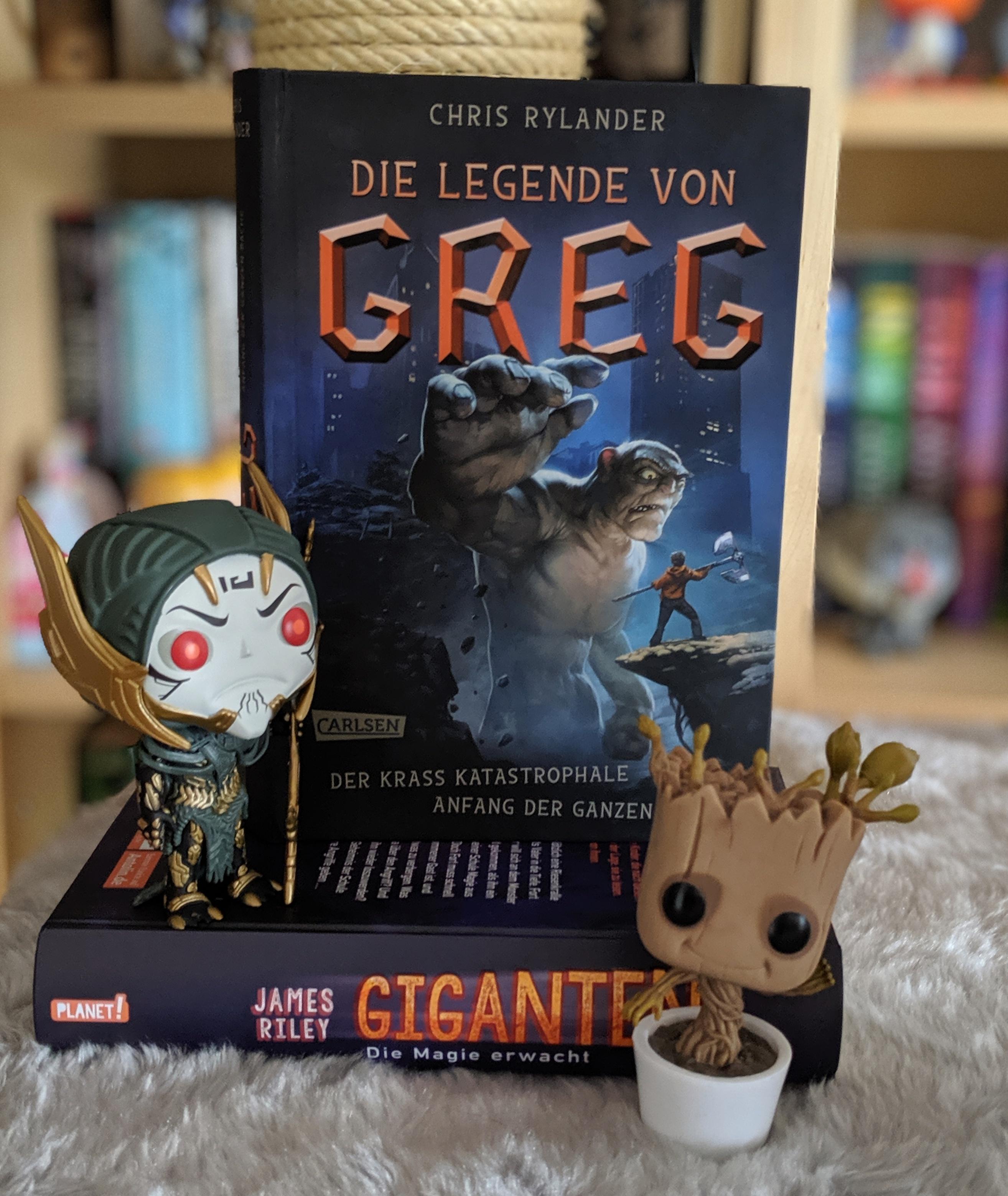 Rezension – Die Legende von Greg